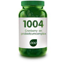 AOV – 1004 Cranberry en probioticumcomplex Vita24
